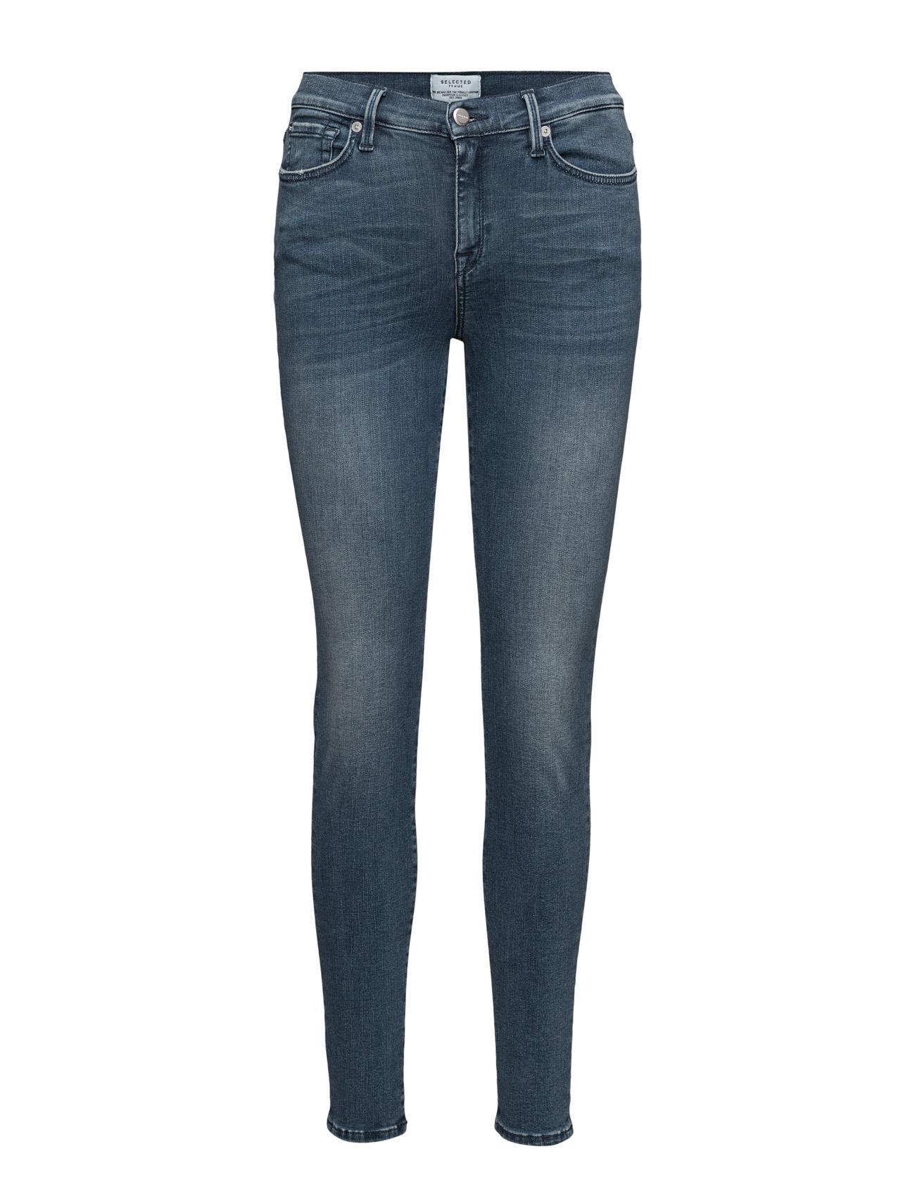 Sfsophie Hr 1 Jeans Vintage Blue Noos Selected Femme Jeans til Kvinder i