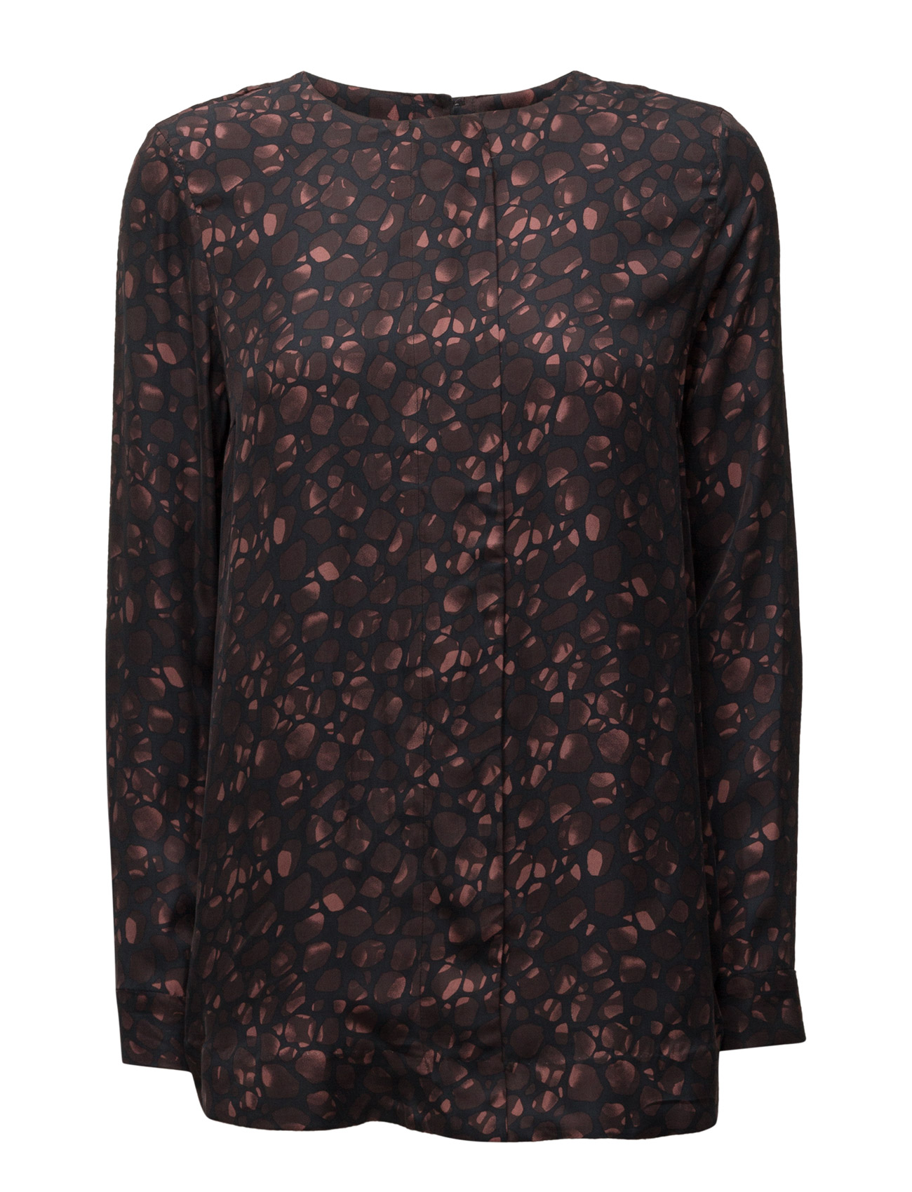 Sfnora L/S Top Selected Femme Langærmede til Damer i Sort