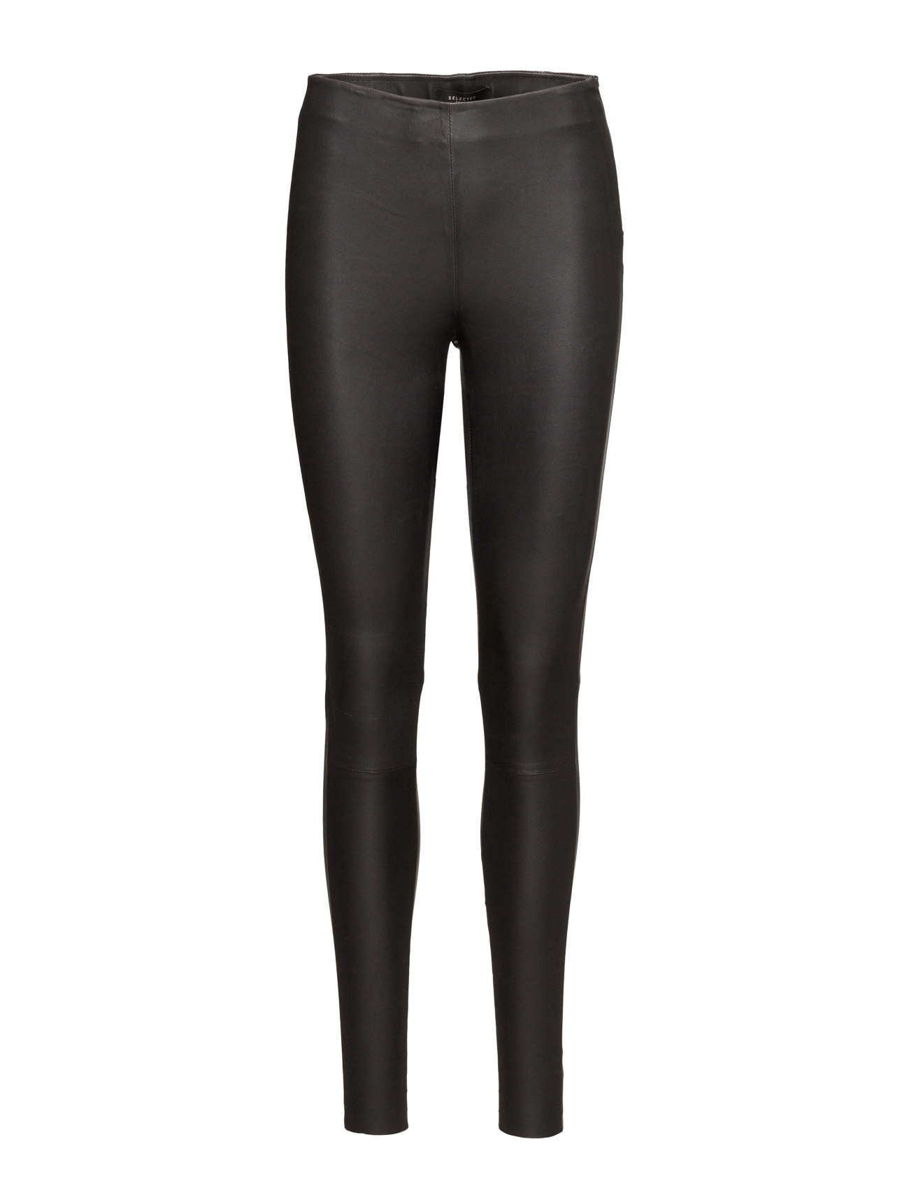 Sfsylvia Mw Stretch Leather Legging Noos Selected Femme  til Damer i