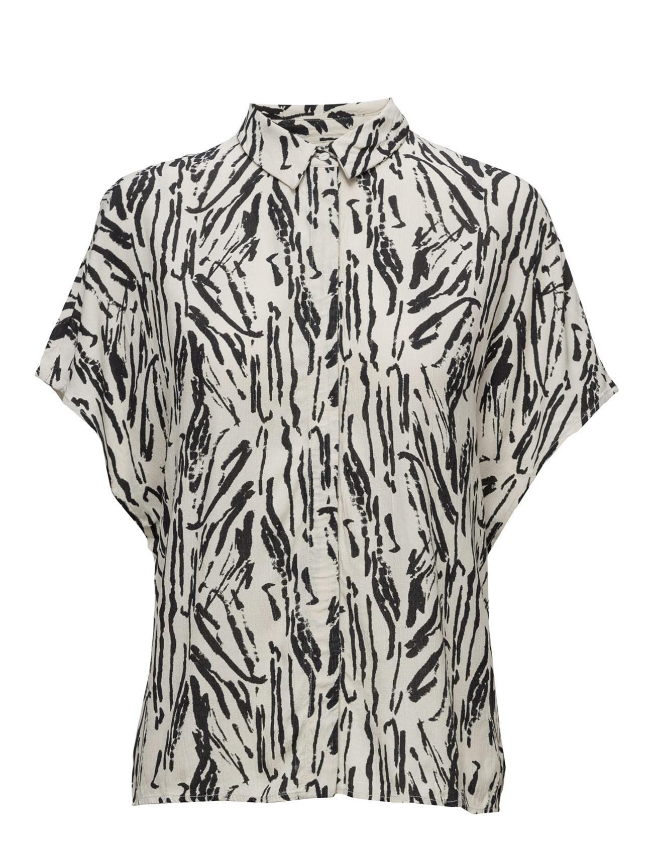 Sflauren Hollie Ss Shirt Selected Femme Bluser til Kvinder i