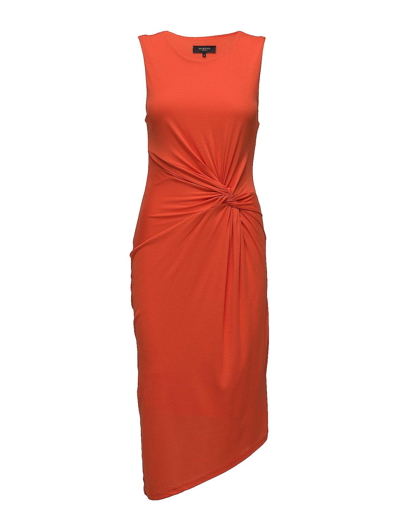 Sfsella Sl Dress Selected Femme Knä Och Medelstora