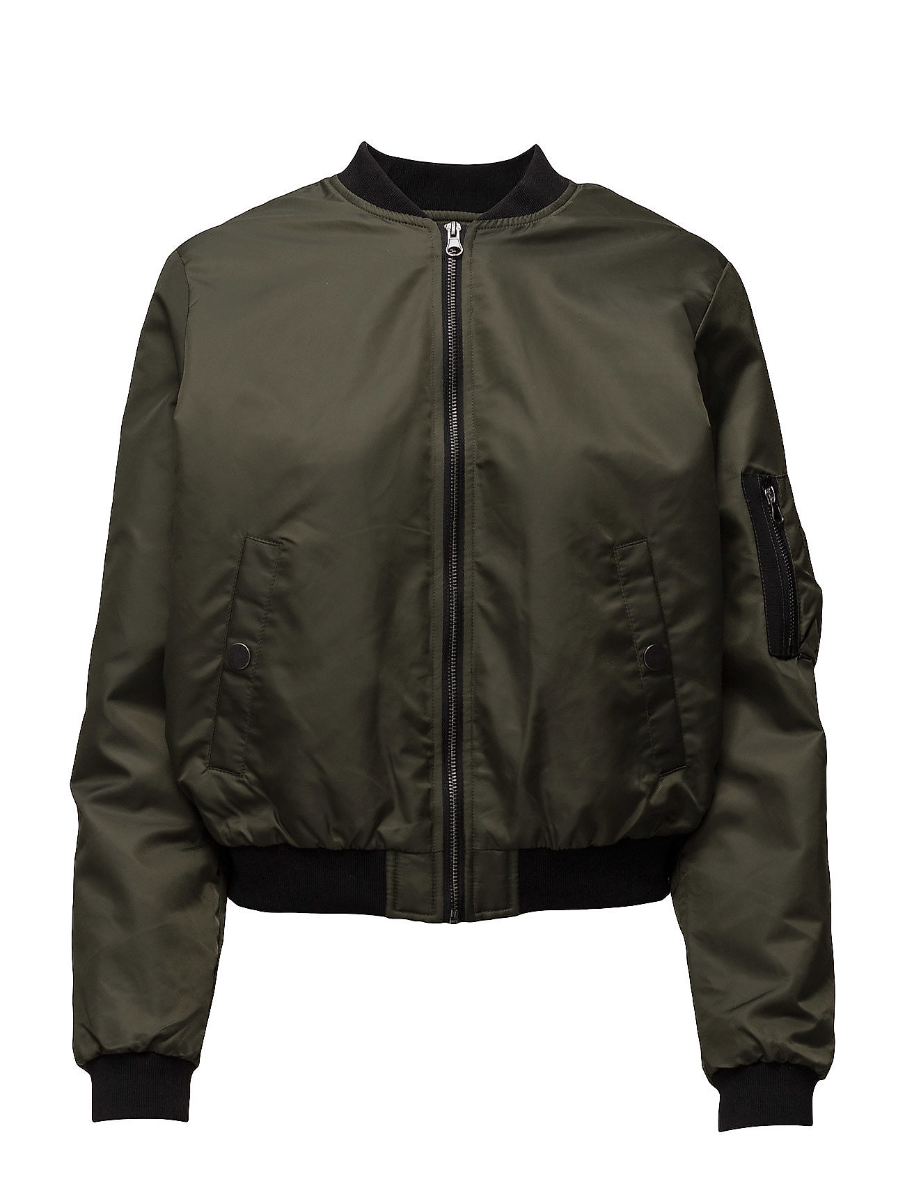 Sfpabla Bomber Jacket Selected Femme Jakker til Damer i Forest Night