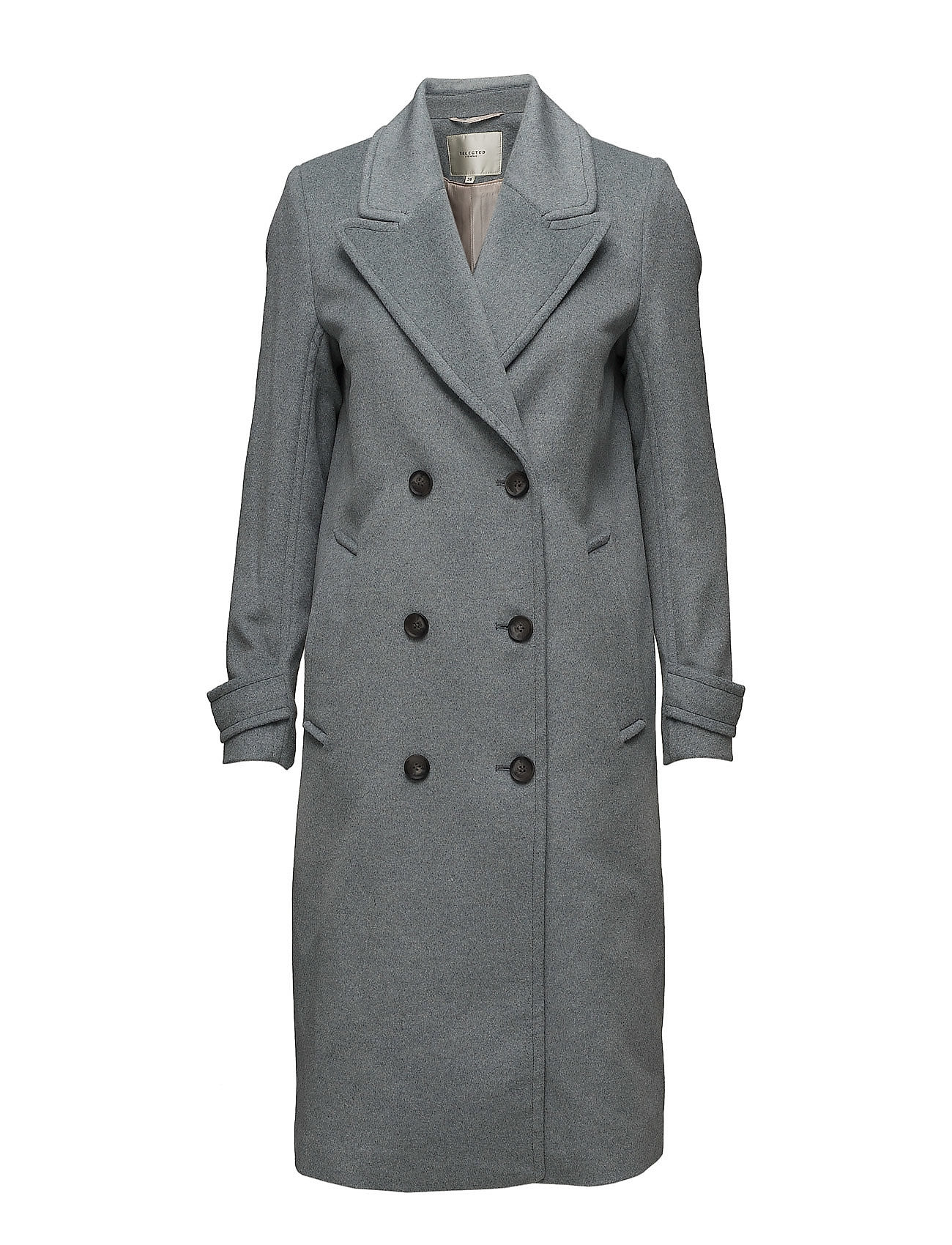 Sfsalma Wool Coat H Selected Femme Frakker til Damer i