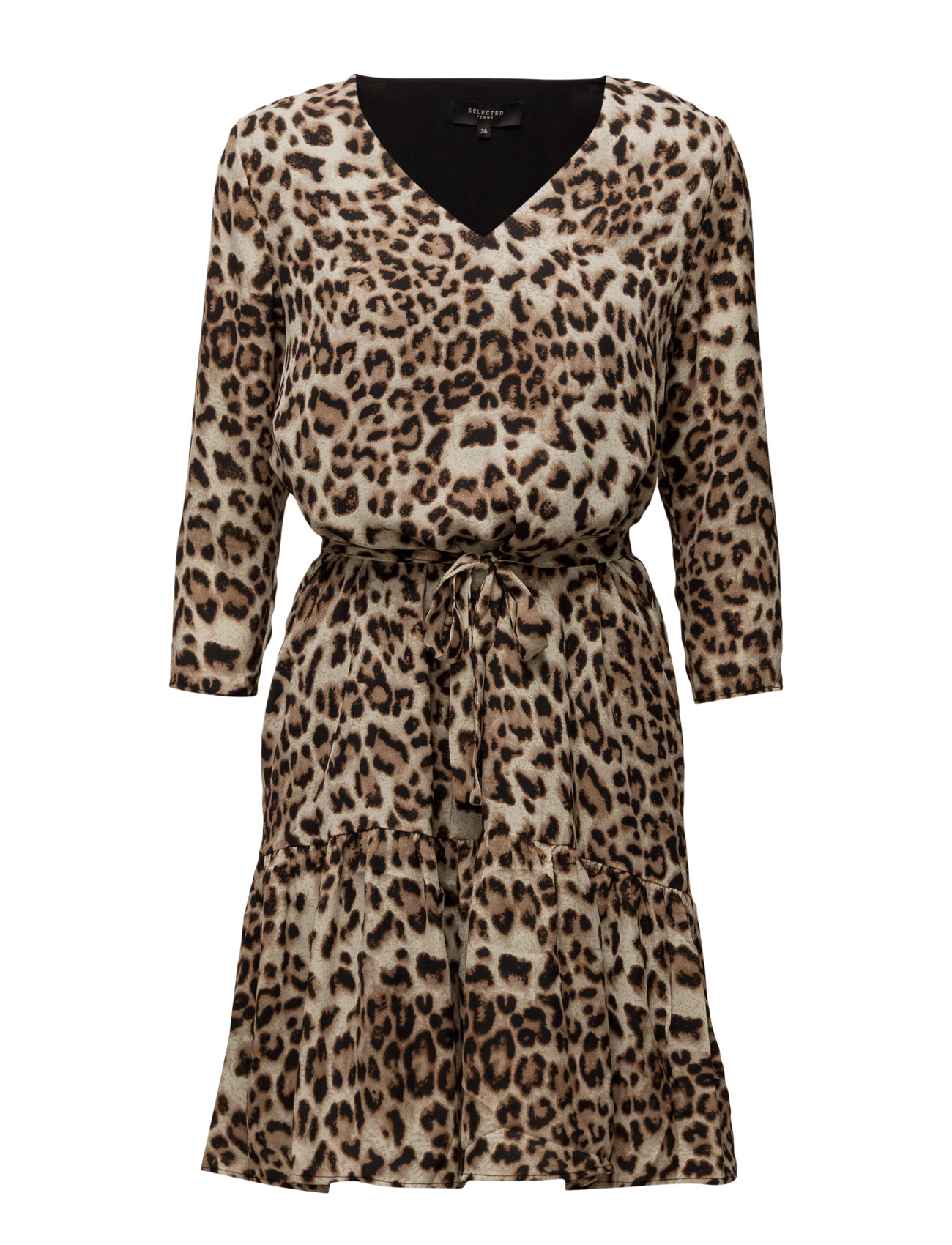 Sfleona 3/4 Dress Ex Selected Femme Knælange & mellemlange til Damer i