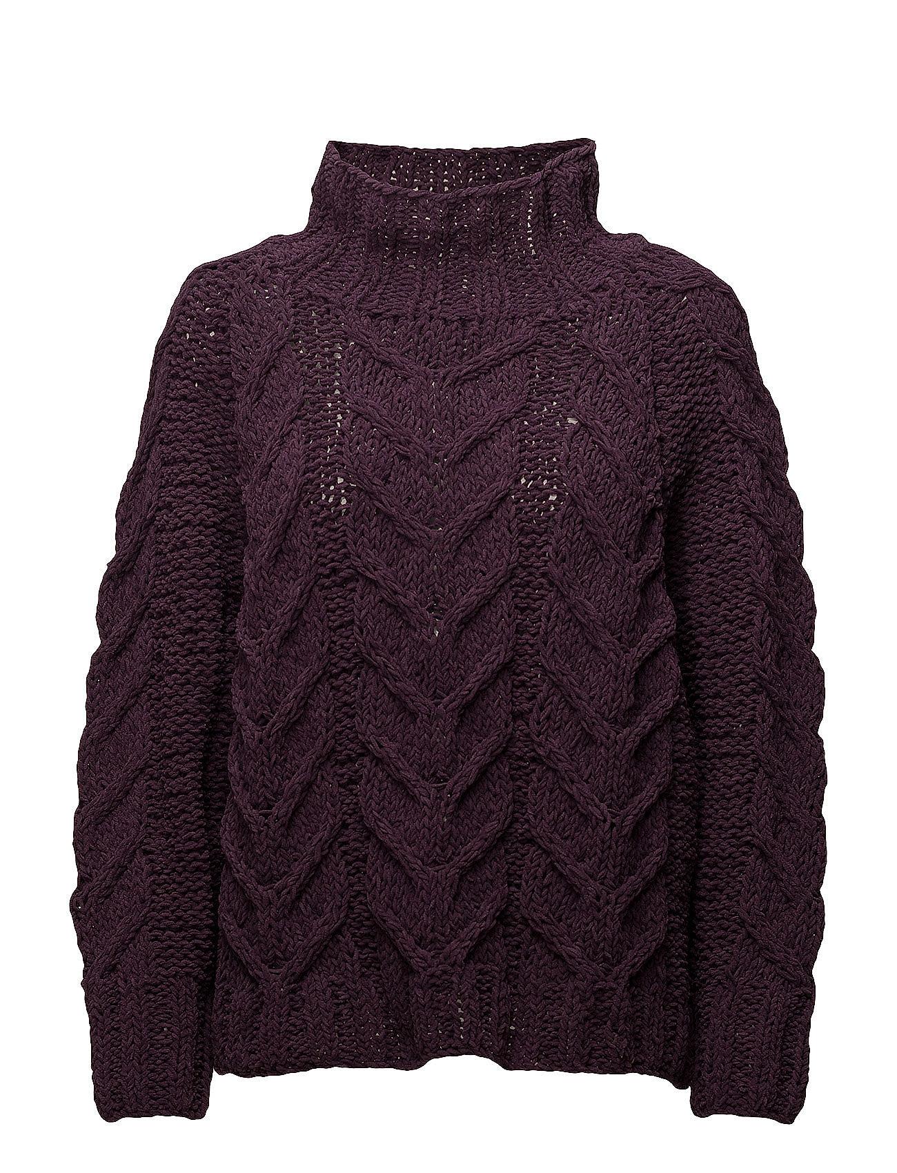 selected femme Sfblair ls highneck knit på boozt.com dk