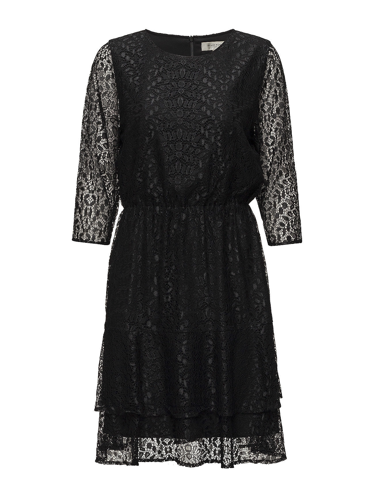 selected femme – Sfmarcia 3/4 lace dress fra boozt.com dk