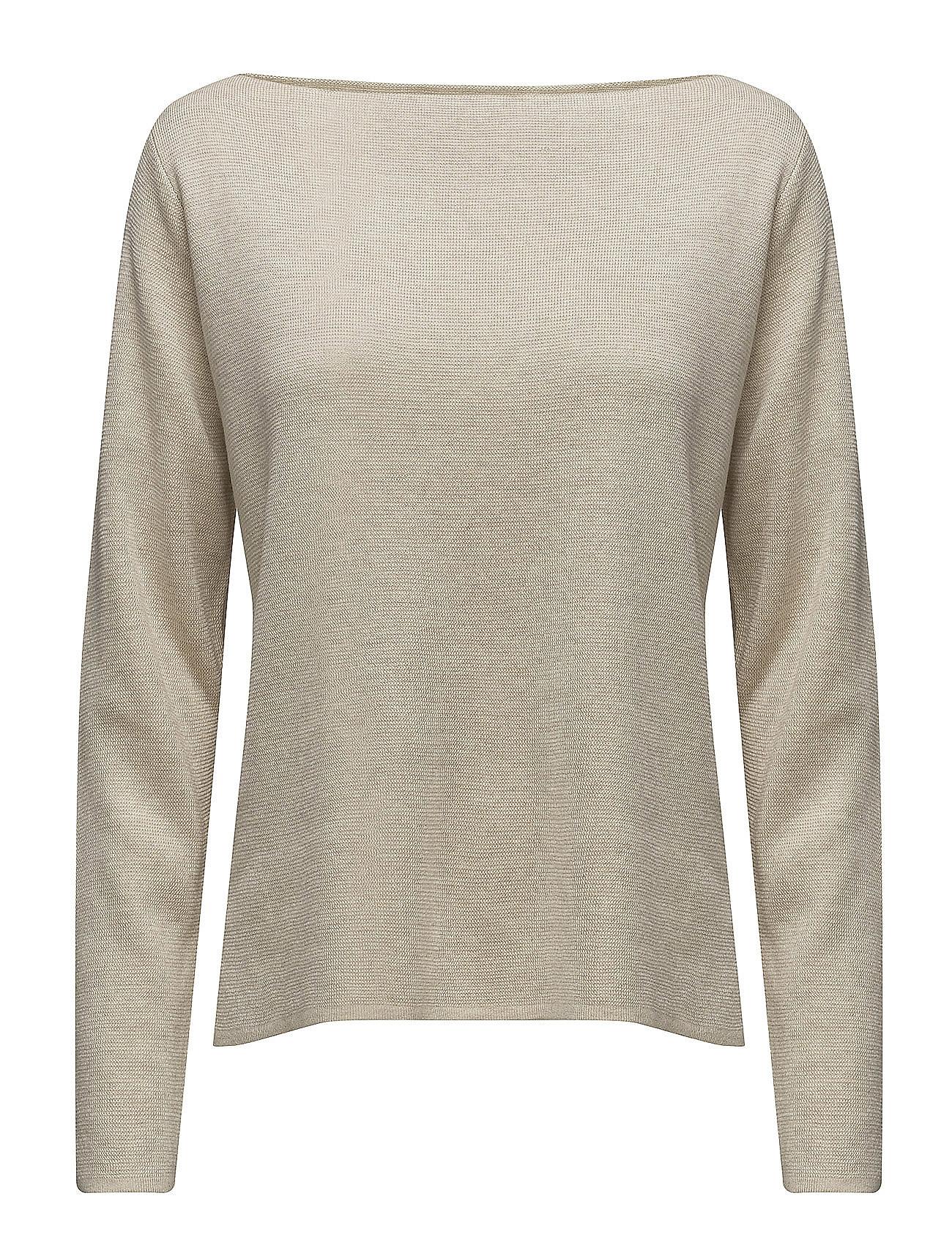 selected femme – Sfluna ls knit boatneck ex på boozt.com dk