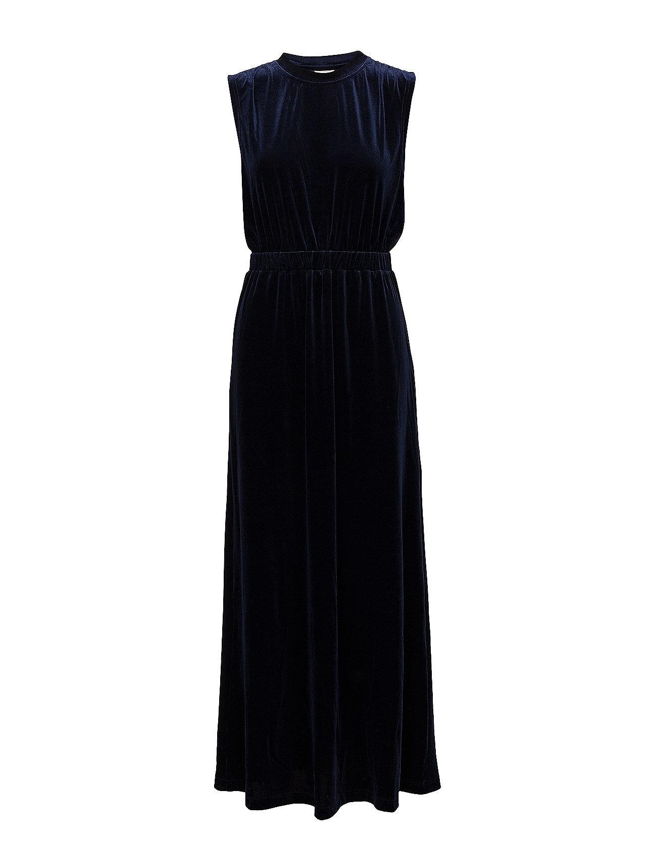 selected femme – Sftanne sl velvet maxi dress ofw på boozt.com dk