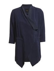 JANINA 3/4 BLAZER F - EVENING BLUE
