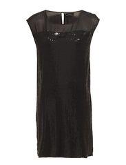 CARLYN SS DRESS - Black