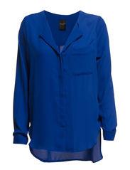 DYNELLA LS SHIRT - Mazarine Blue