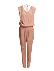 VIKKI SL JUMPSUIT F-EX - Powder rose