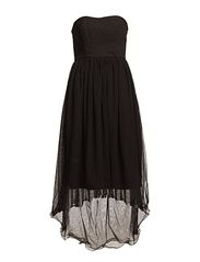 DARLING CORSAGE DRESS F - Black