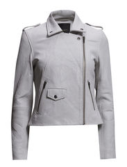 BUFF LEATHER JACKET - Lunar Rock