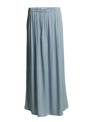 ALEJA MW MAXI SKIRT FJ - Light Blue