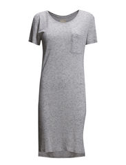 HELLA SHORT DRESS FJ V - Light Grey Melange