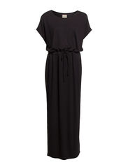 THUSA SL MAXI DRESS FJ - Black