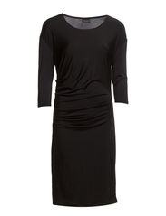 SKY 3/4 DRESS F - Black