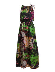 TORINO MAXI DRESS F - Black
