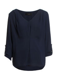 LINNEA 3/4 SLEEVE TOP F - Sky Captain