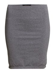 BIGO MW SKIRTS F - Medium Grey Melange