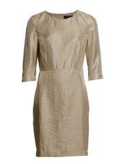 KIWI 3/4 DRESS  - F - Gold Colour