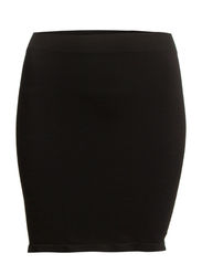 EKSA SEAMLESS SKIRT GLASS - FJ - Black