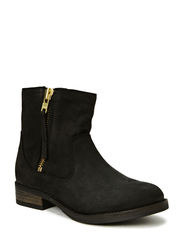 LEVA BOOT W. FUR FJ - Black