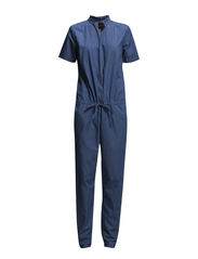 SFKATRINE SS JUMPSUIT - FJ - Medium Blue Denim