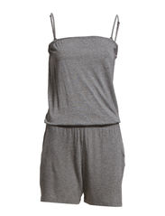 SFSANTO SL PLAYSUIT FJ RT - Medium Grey Melange