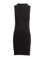 SFSILLA SL DRESS FJ RT - Black