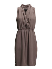 SFNIKA SL DRESS F - Deep Taupe
