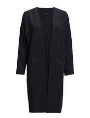SFPOWER LOOSE LONG BLAZER F - Dark Navy