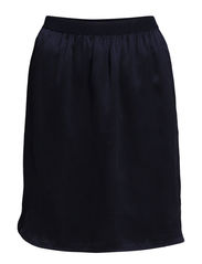 SFTRONIC MW SILK SKIRT F - Dark Navy