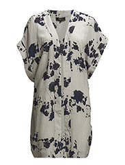 SFFRAN SS LOOSE SILK KIMONO F - Ashes Of Roses