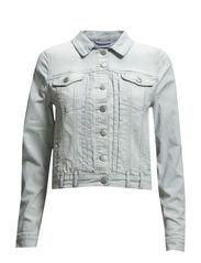 SFSHARIN DENIM JACKET - LIGHT BLUE FJ - Light Blue Denim