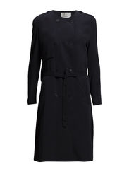 SFRAUNA LS COAT F H - Dark Navy