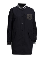SFBARA LS LONG JACKET - Dark Navy
