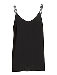 SFTOMI STRAP TOP F - Black