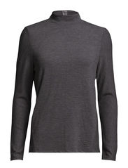 SFLITTA LS TOP EX - Medium Grey Melange
