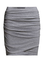 SFMICOL MW SKIRT - F - Light Grey Melange