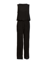 SFENDORA  LONG LEG SL JUMPSUIT EX - Black