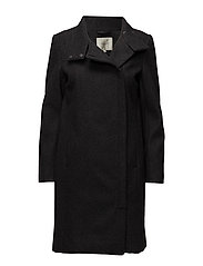 SFSIGFRED LS COAT H - MEDIUM GREY MELANGE