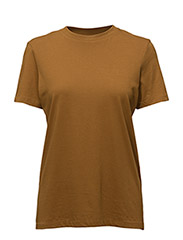 SFMY PERFECT SS TEE - BOX CUT COLOR - GOLDEN BROWN