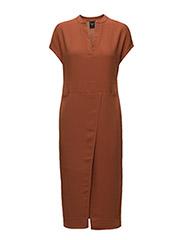 SFCIRA SL DRESS - RUSTIC BROWN