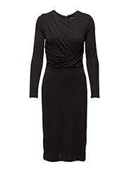 SFLAKRO LS DRESS - BLACK
