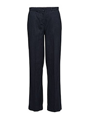 SFCECILIE MW WIDE PANT H - DARK NAVY