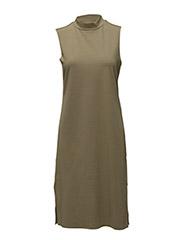 SFCODA SL HIGHNECK DRESS EX - ALOE