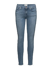 SFELENA MR 1 JEANS LAPIS VINTAGE NOOS - MEDIUM BLUE DENIM