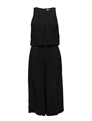 SFBADELIA SL CROPPED JUMPSUIT H - BLACK